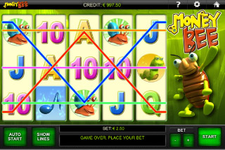Money Bee Mobile Slot Paylines