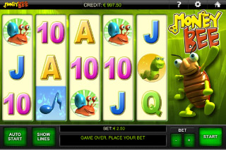 Money Bee Mobile Slot Screenshot