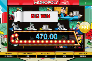 Monopoly Mobile Slot Big Win