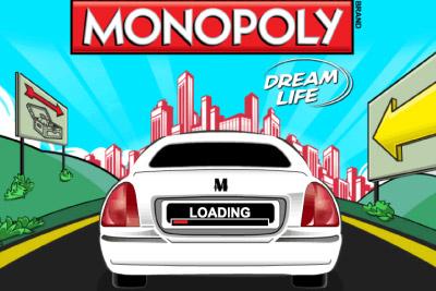 Monopoly Dream Life Mobile Slot Logo