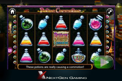 New Potion Commotion Mobile Slot Coming 20th November