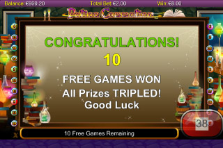 Potion Commotion Mobile Slot Free Spins