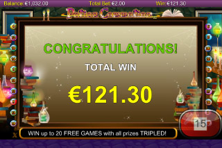 Potion Commotion Mobile Slot Win