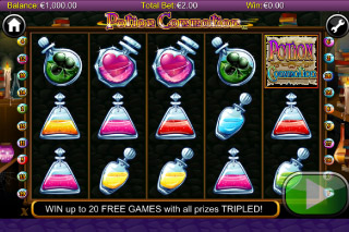 Potion Commotion Mobile Slot Screenshot