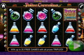 Potion Commotion Mobile Slot Screenshot
