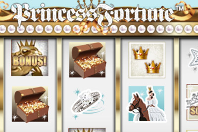 Princess Fortune Mobile Slot Logo