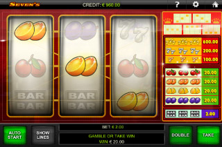 Seven's Mobile Slot Win