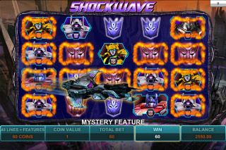 Transformers Mobile Slot Shockwave Bonus
