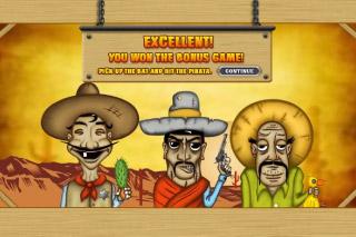 Tres Hombres Mobile Slot Bonus Game