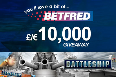Get your share of £/€10,000 at BetFred Mobile Casino