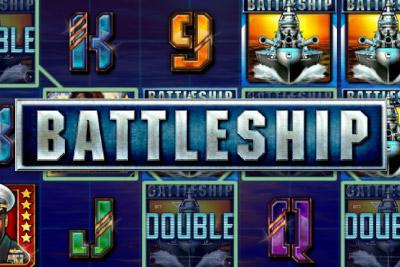 Battleship Mobile Slot Logo