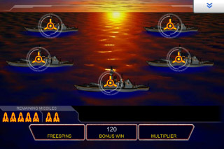 Battleship Mobile Slot Pick Me Bonus