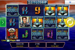Battleship Mobile Slot Screenshot