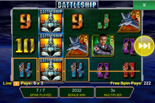 Battleship Mobile Slot Free Spins