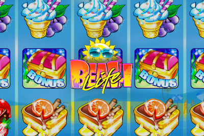 Beach Life Mobile Slot Logo