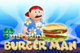Burger Man Mobile Slot Logo