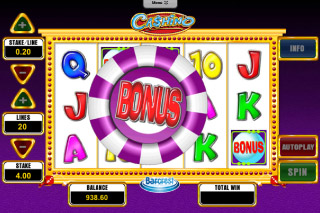 Cashino Mobile Slot Bonus