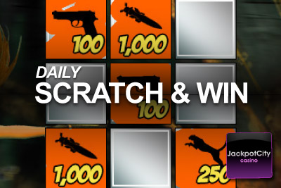 Play Your Daily Scratchcard at Jackpot City Mobile Casino