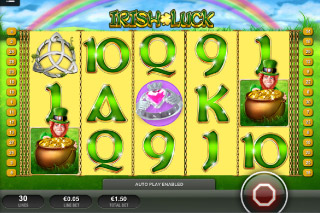 Irish Luck Mobile Slot Screenshot