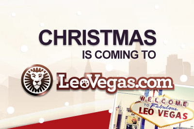 Join Leo Vegas and Get a Christmas Bonus from 24th - 26th December