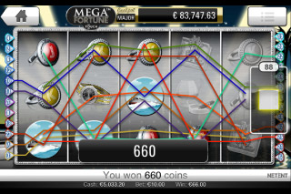 Mega Fortune Mobile Slot Win