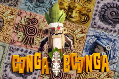 Oonga Boonga Mobile Slot Logo