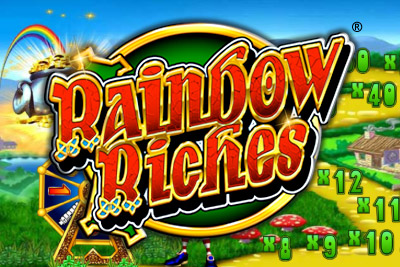 Rainbow Riches Mobile Slot Logo