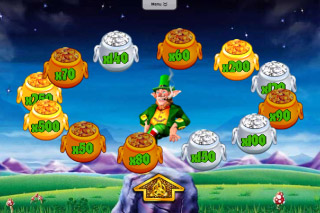 Rainbow Riches Slot Pot of Gold Bonus