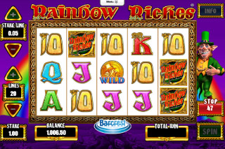 Rainbow Riches Mobile Slot Screenshot
