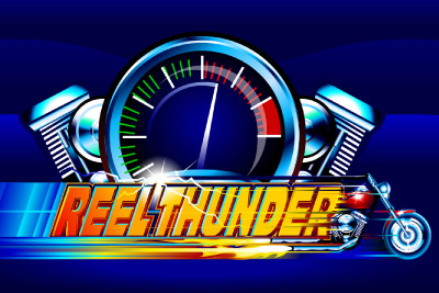 Reel Thunder Mobile Slot Logo