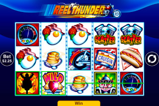 Reel Thunder Mobile Slot Scatters