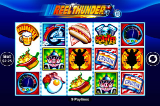 Reel Thunder Mobile Slot Screenshot