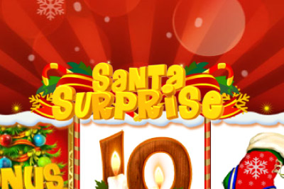 Santa Surprise Mobile Slot Logo