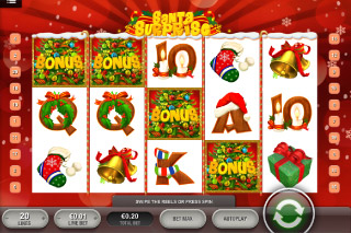 Santa Surprise Mobile Slot Screenshot
