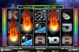 Space Race Mobile Slot Free Spins