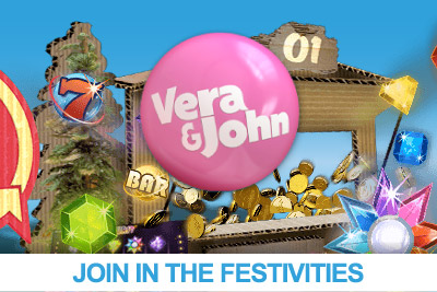 Get More this Christmas from Vera&John Mobile Casino