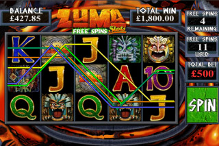 Zuma Mobile Slot Free Spins