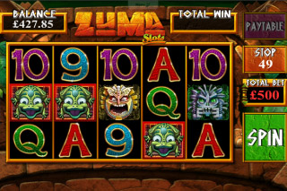 Zuma Mobile Slot Screenshot