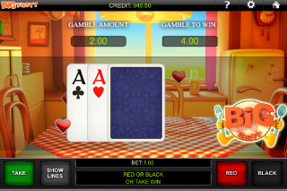 Big Tasty Mobile Slot Gamble Feature