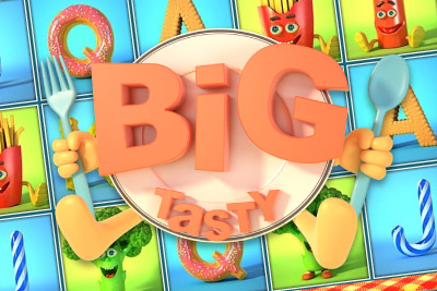 Big Tasty Mobile Slot Logo