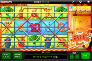 Big Tasty Mobile Slot Paylines