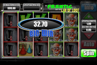 Dr Frantic Mobile Slot Big Win