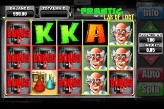 Dr Frantic Mobile Slot Sticky Wins