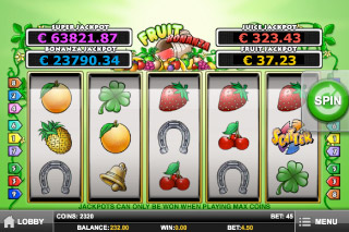 Fruit Bonanza Mobile Slot Screenshot