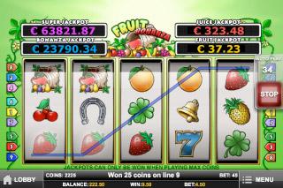 Fruit Bonanza Mobile Slot Win