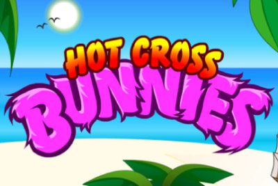 Hot Cross Bunnies Mobile Slot Logo