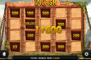 Incash Mobile Slot Bonus Win