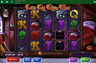 Little Red Riding Hood Mobile Slot Screenshot