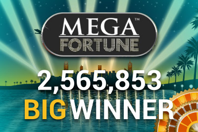 NetEnt's Mega Fortune Slot Pays Out Millions
