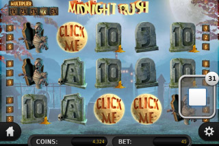 Midnight Rush Mobile Slot Click Me Feature